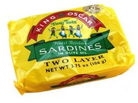 Sardines King Oscar Tiny Tots in Olive Oil