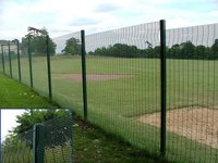 358 Type Welded Mesh Fencing