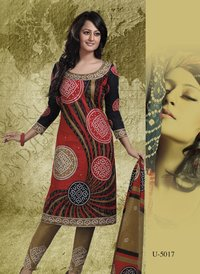 Ladies Designer Suits (U-5017)
