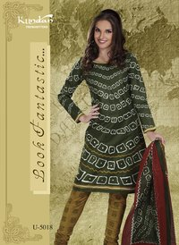Ladies Designer Suits (U-5018)