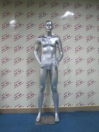 FRP Male Fully-body Stand Mannequin