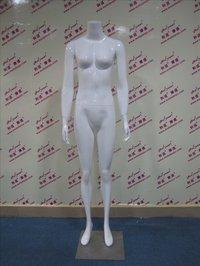FRP Female Full-body Mannequin Headless