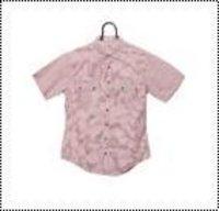 Kids Check Pattern Half Shirt