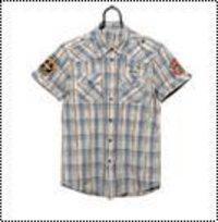 Men'S Casual Half Shirt