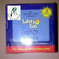Domestic LPG Cylinder Safety Device