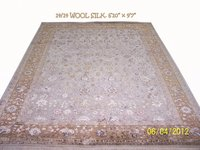 Hand Knotted Wool Silk Rugs