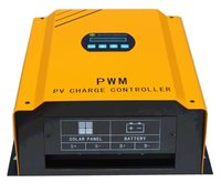 Solar Panel Controller Charging Battery