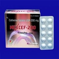 Cefixime Tablets I.P. 200 - Nexcef