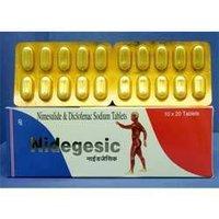 Nimesulide & Diclofemac Sodium Tablets - Nidegesic