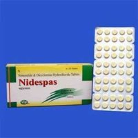 Nimesulide & Dicyclomine Hydrocloride Tablets - Nidespas