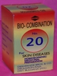 Debco'S Bio-Combination No.20 Skin Diseases