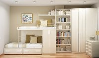 Bed With Book Shelf Designing Service