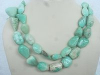 Chrysoprase Tumble Necklace