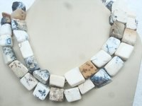 Dendritic Agate Tumble Necklace