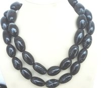 Black Lace Agate Necklace