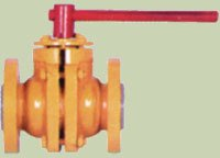 Cast Iron Lined Ball Valve