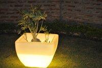 LED Plastic Planters
