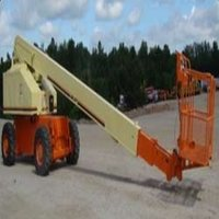 Articulated Boom Crane On Hiring Services