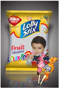 Mixed Fruit Lollipop (Lolly Bolly)