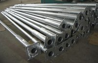 Galvanized Steel Light Poles