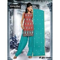 Chanderi Silk Salwar Suits