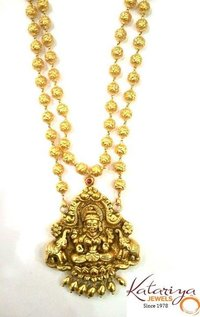Mohanmale With Antique Lakshmi Pendant