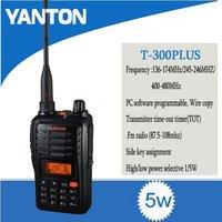 VHF/UHF Handheld Walkie Talkie (YANTON T-300PLUS)