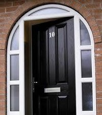 Polymers Glass Reinforce Door