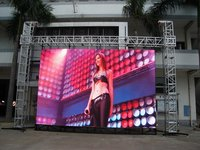 Outdoor Virtual Pixel Advertising Led Display Screen (2r1g1b P20)