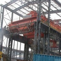 Overhead Hook Crane with 550/100T Lifting Capacity