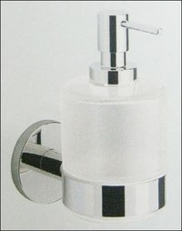 Soap Dispenser With Glass Bottle