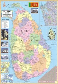 Srilanka Political Map