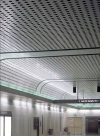 Ss Perforated Ceiling