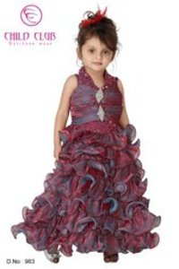 Girls Designer Ball Frock