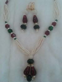 Womens Necklace With Earings