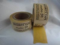 Printed Yellow Glue Brown Kraft Tape