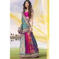 Indian Culture Lehenga Saree