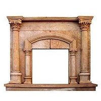 Sandstone Fireplace Surround