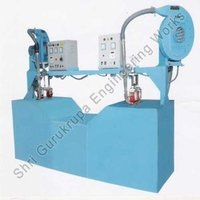 Two Head Side Sealing Machine With Conveyor Drive In The Centre