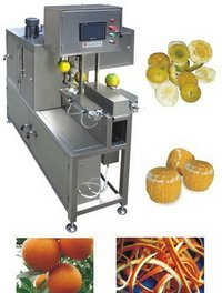Automatic Orange Peeling Machine
