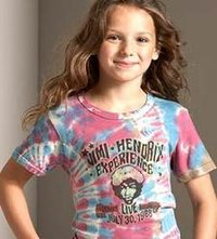 Girls Multicolored T-Shirt