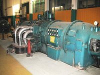 Back Pressure Steam Turbine 7400 KW