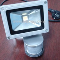 10W-100W LED Flood Light with Motion Sensor
