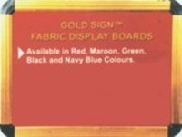 Goldsign Valvet Display Board