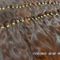 26'' Virgin Single Drawn Human Hair Extension
