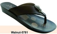 Walnut Ladies Slipper (5781)