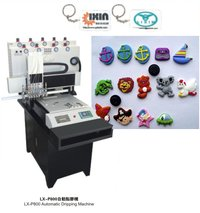 Liquid Key Chain And Label Injection And Moulding Machine