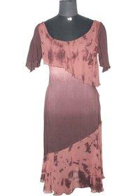 Designer Hand Tie Dyed Dress