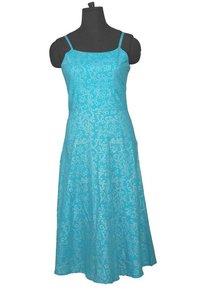 Designer Women Hand Block Printed Dress