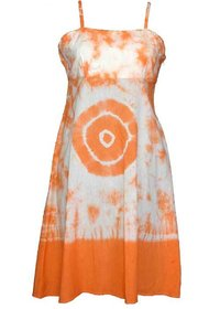 Girls Stylish Hand Tie Dyed Dress